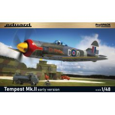British fighter aircraft Tempest Mk.II early version 1/48