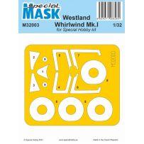Westland Whirlwind Mk.I Mask 1/32