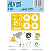 Tempest Mk.II/V Mask 1/48