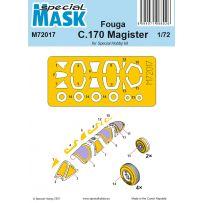 Fouga C.170 Magister Mask 1/72