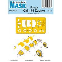 Fouga CM-175 Zephyr Mask 1/72
