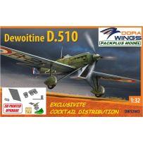 SET PACKPLUS Dewoitine D.510 1/32
