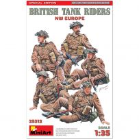 British Tank Riders. NW Europe. Special Edition 1/35