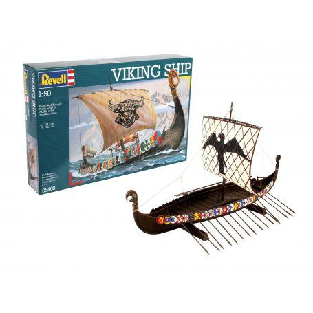 Viking Ship 1/50