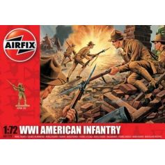Wwi American Infantry 1/72