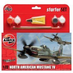 Small Starter Set - North American Mustang Mk.IV 1/72