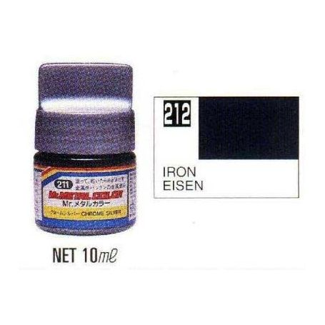 Mr. Metal Colors (10 ml) Iron