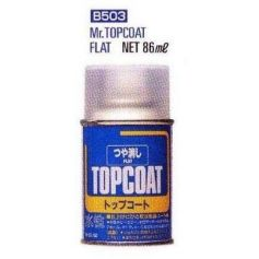 Mr. Top Coat Flat Spray (86 ml)