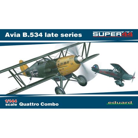 EDUARD 04452 Avia B.534 late series Quattro Combo 1/144