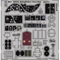EDUARD 32861 OS2U Kingfisher interior 1/32 KITTYHAWK Photo etched set