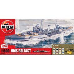 AIRFIX 50069 HMS BELFAST GIFT SET 1/600