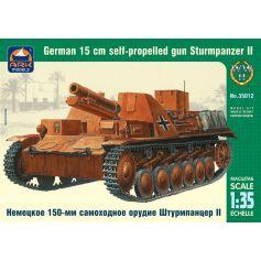 Sturmpanzer II German 15 cm self-propelled gun 1/35
