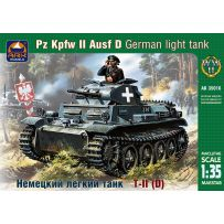 ARK MODELS AK 35016 PZ.KPFW.II AUSF.D GERMAN LIGHT TANK