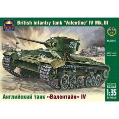 Valentine IV Mk.III British infantry tank 1/35