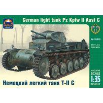 ARK MODELS AK 35018 PZ.KPFW.II AUSF.C GERMAN LIGHT TANK