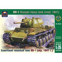 ARK MODELS AK 35020 KV-1 RUSSIAN HEAVY TANK. MODEL 1941 EARLY VERSION