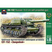 ARK MODELS AK 35025 SU-152 RUSSIAN 15.2 CM ANTITANK SELF-PROPELLED GUN