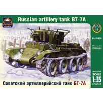 ARK MODELS AK 35026 BT-7A RUSSIAN ARTILLERY LIGHT TANK WITH KT-28 76.2 MM GUN