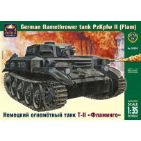 ARK MODELS AK 35029 FLAMM PZ.KPFW.II GERMAN FLAMETHROWER TANK