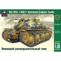 ARK MODELS AK 35030 SD.KFZ.140/1 GERMAN RECONNAISSANCE TANK