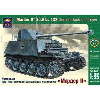 ARK MODELS AK 35031 MARDER II SD.KFZ.132 GERMAN TANK DESTROYER