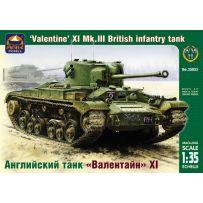 ARK MODELS AK 35032 VALENTINE XI MK.III BRITISH INFANTRY TANK