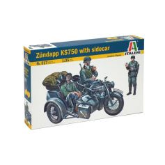 Zundapp Ks750 With Sidecar 1/35