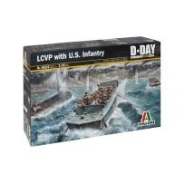 ITALERI 6524 LCVP with U.S. INFANTRY 1/35