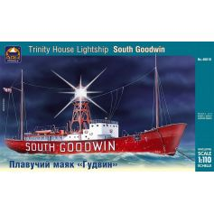 Trinity House South Goodwin British lightship 1/110