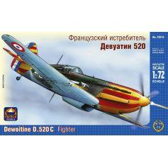 Dewoitine D.520 1/72
