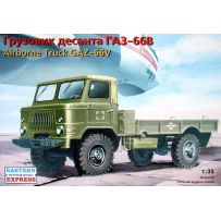 EASTERN EXPRESS 35133 GAZ-66V RUSSIAN AIRBORNE MILITARY TRUCK 1/35