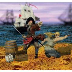 Pirates X 2 + Accessoires 1/32