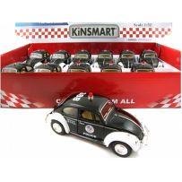 ROBETOY 61182 12 X CAR VW 1967 POLICE pb 13cm 1/32