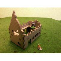 COMODEL 1501 IMMEUBLE EN RUINE AVEC PLANCHER PERCE