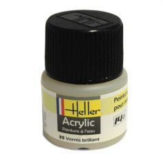 HELLER 09035 VERNIS BRILLANT X6 ACRYLIQUE 12ML
