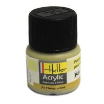 HELLER 09071 CHENE SATINE X6 ACRYLIQUE 12ML