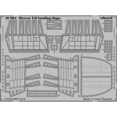 EDUARD 48884 METEOR F.8 LANDING FLAPS 1/48
