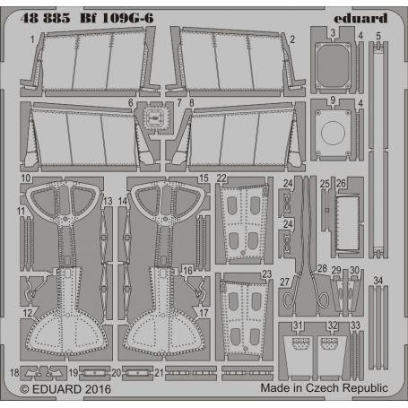 EDUARD 48885 BF 109G-6 1/48