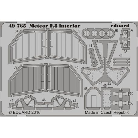 EDUARD 49765 METEOR F.8 INTERIOR 1/48