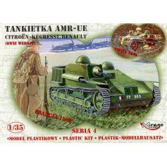 AMR -UE Tankette Citroen-Kegresse/Renault 1/35