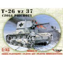 MIRAGE HOBBY 35308 T-26 WZ. 37 RUSSIAN LIGHT TANK 1/35