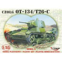 MIRAGE HOBBY 35309 OT-134 / T-26C RUSSIAN LIGHT TANK 1/35