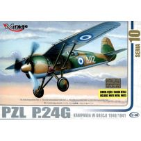 MIRAGE HOBBY 48108 PZL P.24G GREECE 1940/1941 1/48