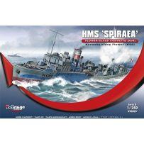 MIRAGE HOBBY 350803 HMS 'SPIRAEA' - FLOWER-CLASS CORVETTE (K08) 1/350