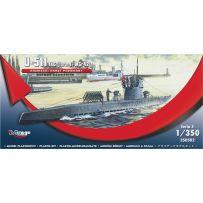 MIRAGE HOBBY 350502 GERMAN U-BOOT U-511 - IX C [TURM I + WGR42] 1/350