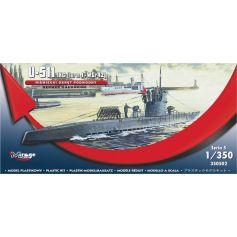 U-511 - Ix C Turm I + Wgr42 1/350