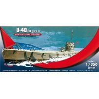 MIRAGE HOBBY 350504 GERMAN U-BOOT U-40 IXA (TURM I) 1/350