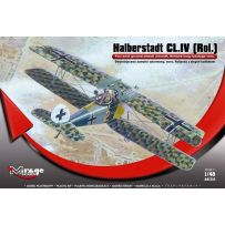 MIRAGE HOBBY 481314 HALBERSTADT CL.IV (ROL) TWO-SEAT GROUND SUPPORT AIRCRAFT ROLAND PRODUCTION BATCH 1/48