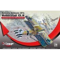 MIRAGE HOBBY 481308 SCHUSTA/SCHLASTA 27 B HALBERSTADT CL.II 1/48