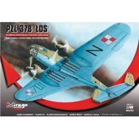 MIRAGE HOBBY 481302 PZL 37B LOS BOMBER 1/48